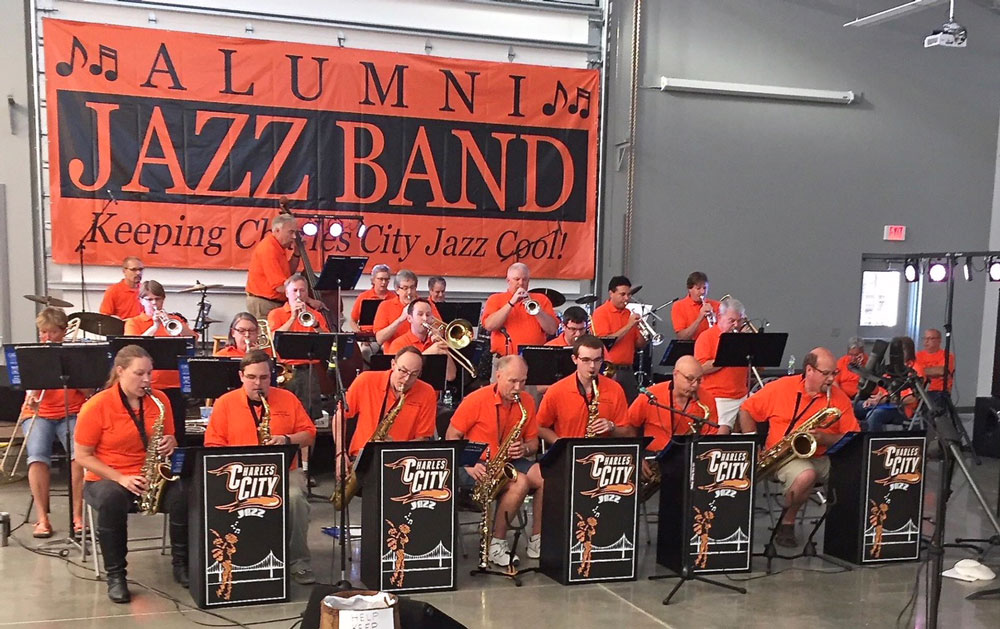 Alumni Jazz Band will gather for another performance this summer