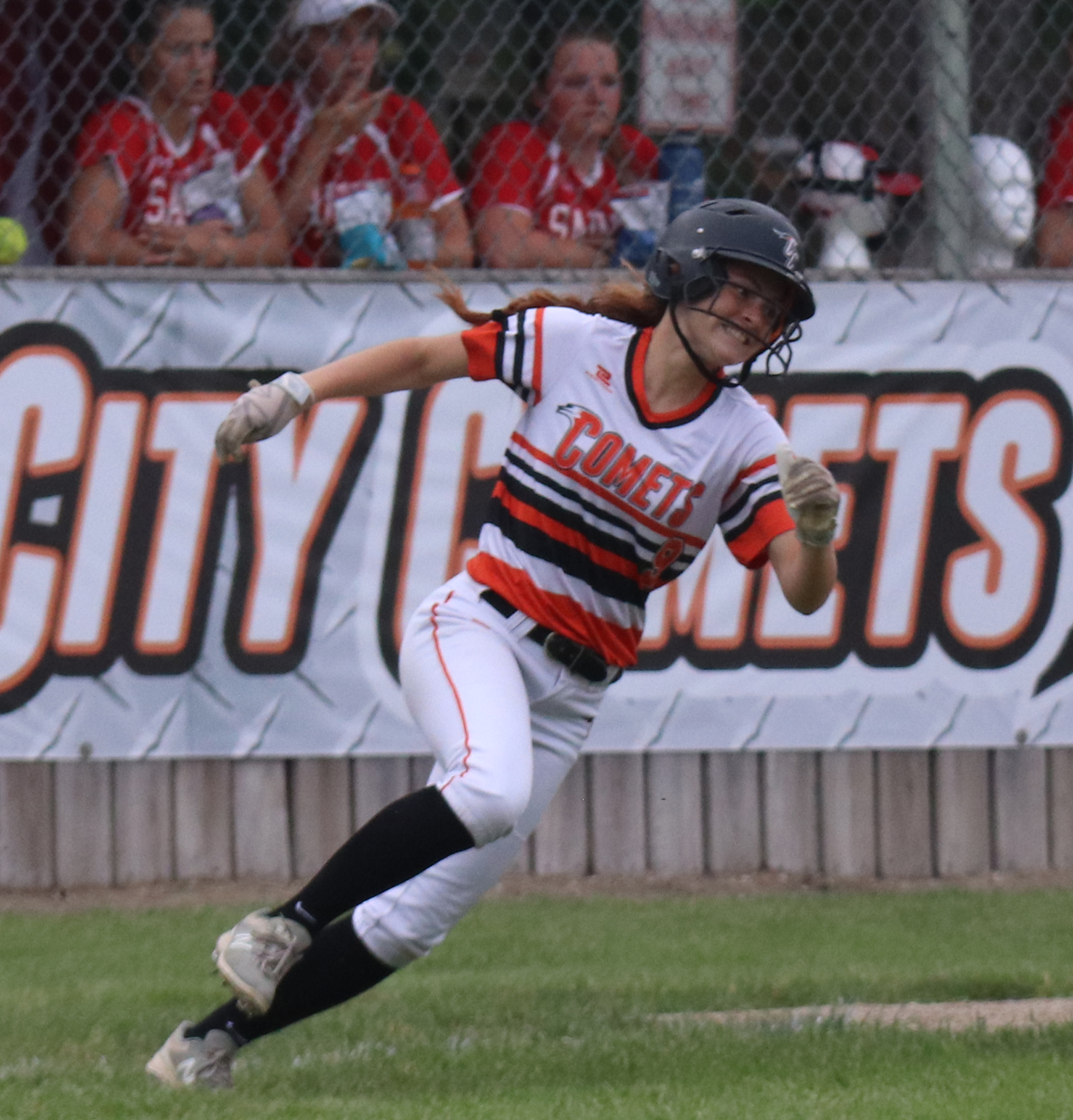 Comets keep rolling with 12-0, 3-inning win over Saints