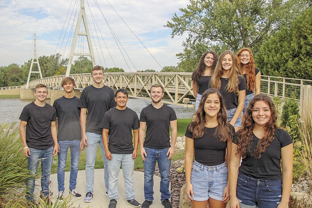 Charles City High School homecoming royalty announced