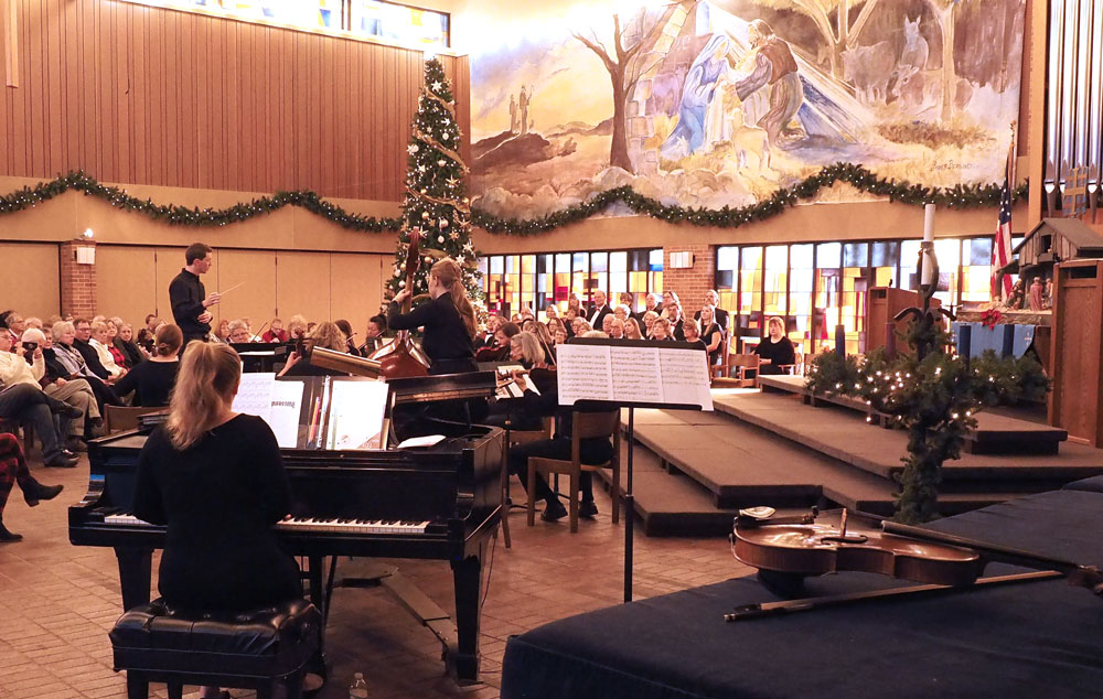 Singers and Community Chamber Orchestra combine again for winter concert