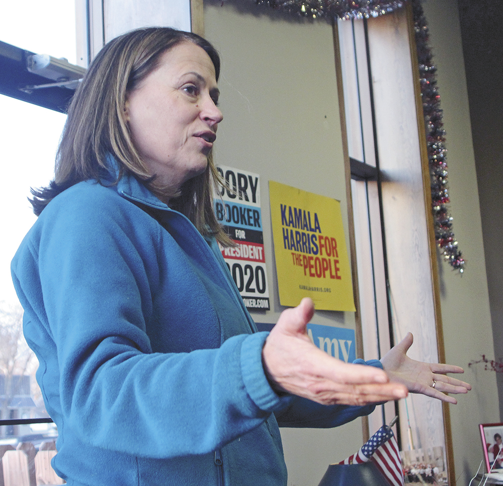 Greenfield hopes to take small-town values to Washington, D.C.