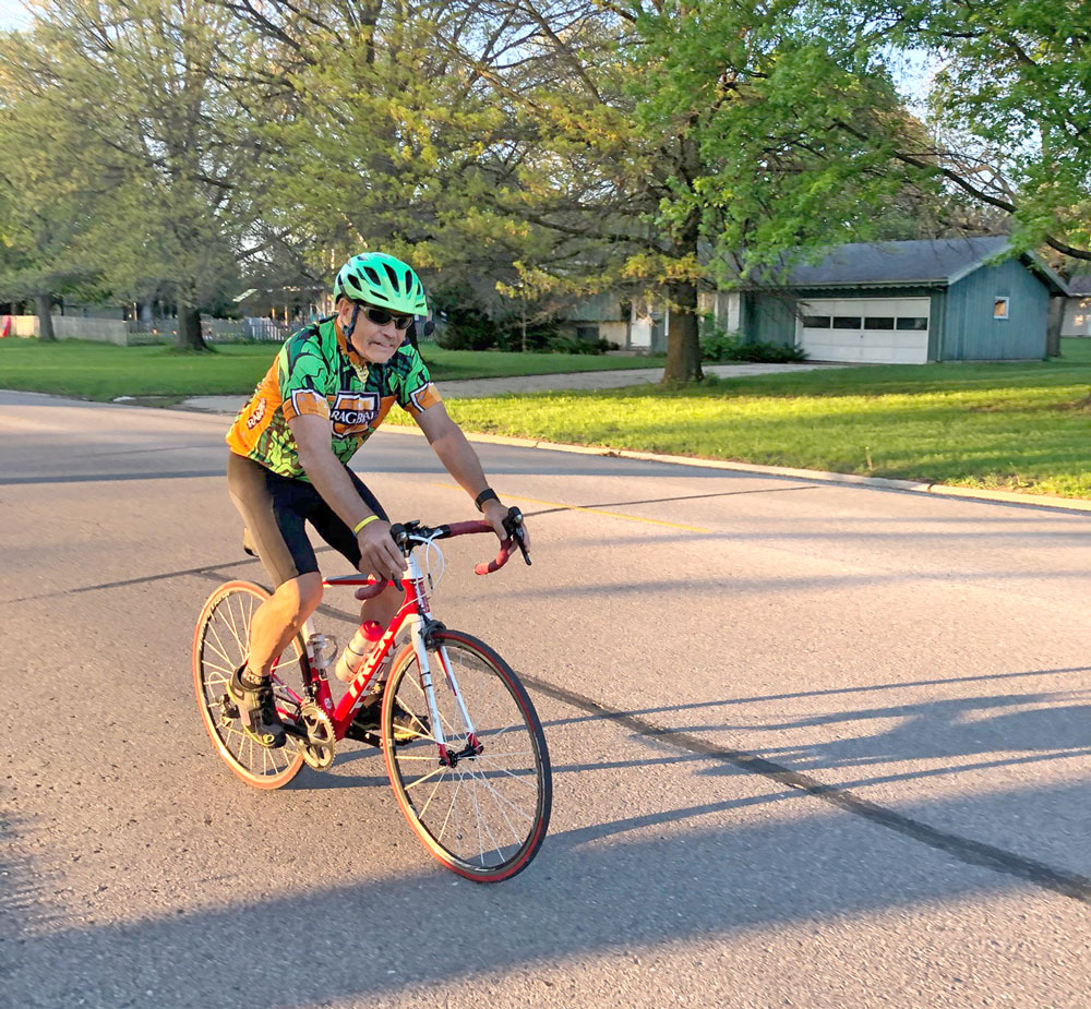 Bicycle Ride of Silence goes on, alone or in family groups