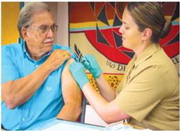 Flu vaccine clinics scheduled