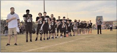 Black Knights Take the Field