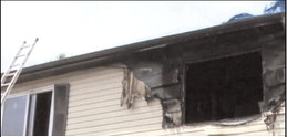Apartment fire displaces residents